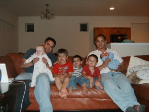2 Oldest Sons and 5 Grandsons